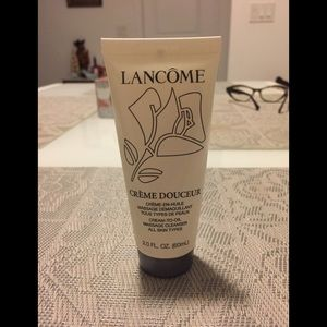 Lancôme cream to oil cleanser.